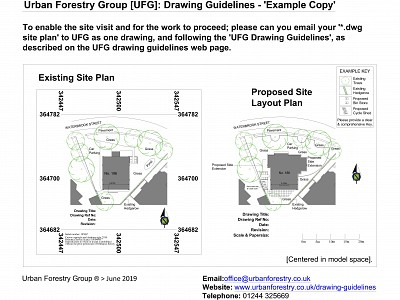 UFG Drawing Guidelines  24 June 19 Model